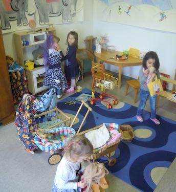 Schnuppertag in der Zwirbeli- und Spielgruppe Wirbelwind