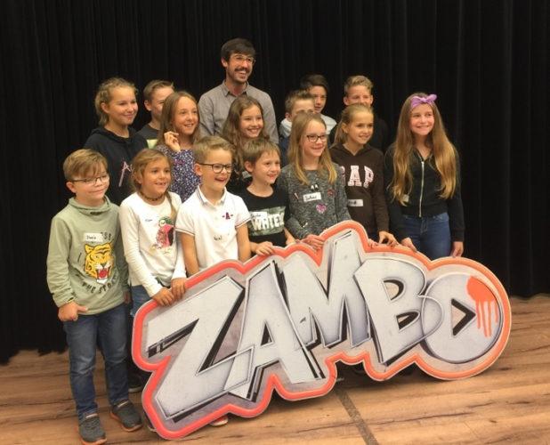 Besuch im Zambo SRF Studio