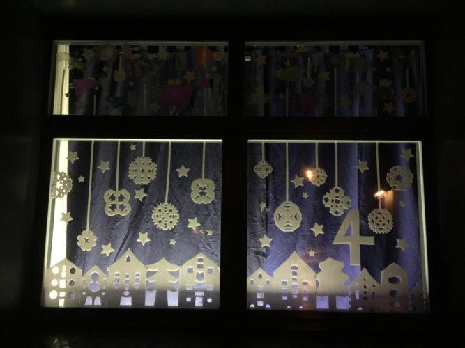 Stimmungsvolle Adventsfenster in der Gemeinde Eschlikon / Wallenwil